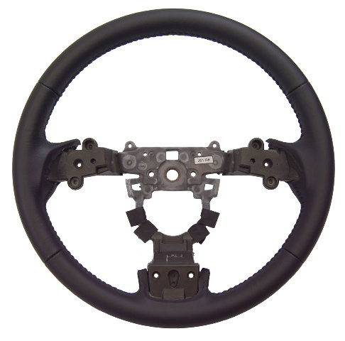 2009 2010 Mazda 6 Black Leather 3 Spoke Steering Wheel New
