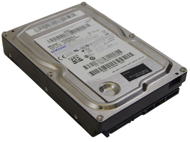 Samsung Spinpoint SATA 250GB Internal Hard Drive Used Model HD256GJ