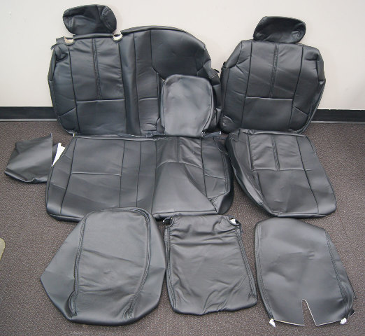 2007 2013 Chevy Silverado Crew Cab Rear Seat Cover Set