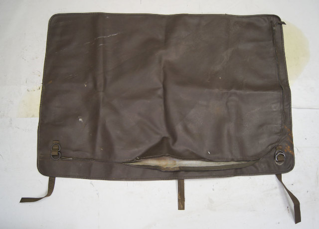 1983-1991 Porsche 924 944 Removable Saratoga Top Brown Leather Storage Bag Used