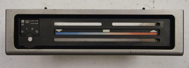 1983 Porsche 944 HVAC Dash Console Panel Used