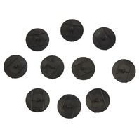 GM Push Pin Retainers New OEM Black Nylon Pack of 10 03078511 03958882