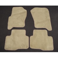 2008-2009 Land Rover LR3 Floor Mats 4pcs New Tan/Beige Carpet