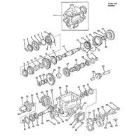 1985-1991 Blazer C10-30 K10-30 Transmission Main Shaft Bearing 08672404 08672062