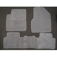2009-15 Honda Pilot Floor Mats 3pcs Gray Carpet New Aftermarket Front & 2nd Row