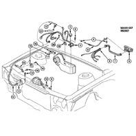 1987-1992 GM A/C Fan Control Switch New OEM ACDelco 10045778 152402