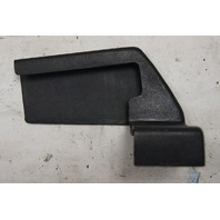 1984-96 Chevy Corvette C4 Front LH Seat Track Cover Black Used 10054460 14049295