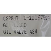 1990-1995 Chevy Corvette C4 ZR1 LT5 Oil Pump Cooler Bypass Valve Assy. 10067599