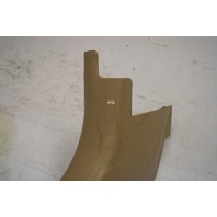 1997-2004 Chevy Corvette C5 Left Kick Panel Scuff Plate Tan Used OEM 10247091