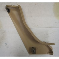 1997-2004 Chevy Corvette C5 Right Seat Belt Cover Trim Panel Used Beige 10258546
