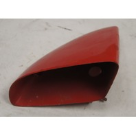 1984-1996 Chevy Corvette C4 Left Outside Mirror Housing Red Used 10273679
