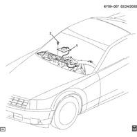2004-2009 Cadillac XLR GPS Navigation Antenna Used Working 10346187 15814166