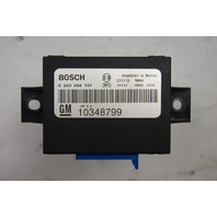 2004-2009 Cadillac XLR Park Assist Module Used Bosch 10348799 10317519