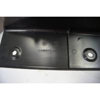 2004-2009 Cadillac XLR Trunk Rear Sill Trim Panel Black Used 10348936 15148014