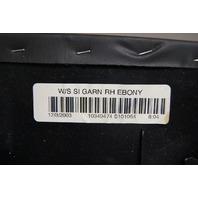 2004-2009 Cadillac XLR Front Right A-Pillar Trim Black Used 10349474 10349470
