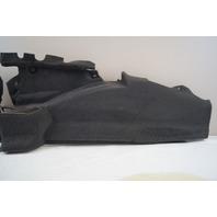 2004-2009 Cadillac XLR Rear Left LH Trunk Wall Carpet Panel Black Used 10352918