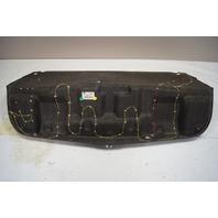 2004-2009 Cadillac XLR Rear Trunk Deck Lid Carpet Black Used 10353065 25788791