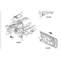 Cadillac XLR Air Bag Door Sensor (Fits LH & RH Side) Passenger / Driver Side