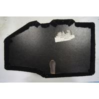 97-04 Chevy Corvette C5 Rear LH Black Storage Trim Cover Panel 10413530 10434927