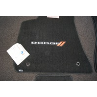 2011-2018 Dodge Charger Floor Mat Set 4pcs New Black Carpet W/Dodge Logo