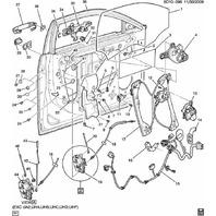 GM Hex Head Bolts W/Washer New OEM M6 X 1.00 X 15mm 11519381