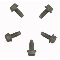 GM Flange Hex Head Bolts Pack of 5 New M8 X 1.25 X 20mm 11519976 11588722