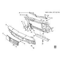 GM Hex Head Bolts W/Washer Pack of 5 New M6 X 1 X 20 Black OEM 11589038 11609540