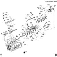 2001-2017 GM Exhaust Valve Stem Seal Kit New OEM 8pcs 12482062