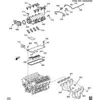 GM PCV Tube Crankcase Vent Tube New OEM 11/32 For 6.0 LS2 12594779 12571633
