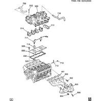 1997-2017 GM Exhaust Manifold Gasket New OEM 12600530 12617944 12558573 12555289