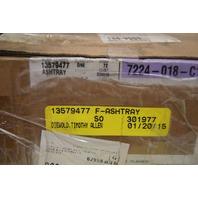 2012-2016 GM Console Ashtray New OEM Black 13579477