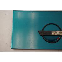 1984-1996 Corvette C4 Coupe Fuel Gas Tank Door Lid GM OEM GENUINE USED BLUE