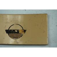 1984-1996 Corvette C4 Coupe Fuel Gas Tank Door Lid GM OEM GENUINE USED GOLD