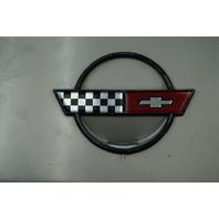 1984-1996 Corvette C4 Coupe Fuel Gas Tank Door Lid GM OEM GENUINE USED SILVER