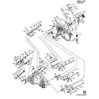 1984-2005 GM Vehicles Pack of Hex Nuts 5pcs New OEM 14X2X16 14060164 11509426