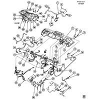 1984-1989 Chevy Corvette C4 Alarm Chime Buzzer For Door Seatbelt Lights 14062571