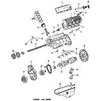 1985-1991 GM Head Gasket New OEM 6.2L Diesel Engine 14067590 12531705 12516166