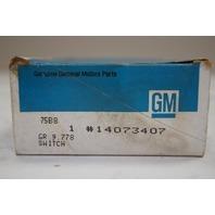 1984-1990 Celebrity Rear Window Defogger Switch New OEM 14073407 10156200 D7052