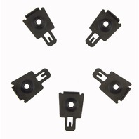 GM Clip Retainer Pack of 5 New OEM Black M6 X 1.00