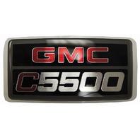 2003-2009 GMC Topkick C5500 Emblem Badge Nameplate Decal New OEM 15012900