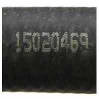 2003-2009 Chevy Kodiak GMC Topkick Heater Hose Inlet Black Rubber New 15020469