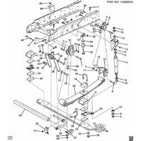 2003-2009 GMC Topkick/Chevy Kodiak Front Sway Bar Bushing New OEM 15036388