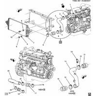 2003-2007 Topkick Kodiak C4500-C8500 T6500-T8500 Turbo Coupler New OEM 15069231