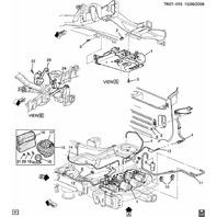 2008-09 Hummer H2 Air Suspension Interior Trim Bezel 15124700 15079916 15052031