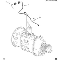 2003-09 GMC Topkick/Chevy Kodiak Transmission Wire Harness New 15161798 15082779