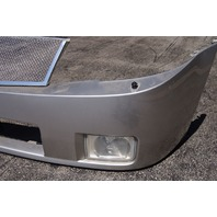 2004-2008 Cadillac XLR Front Bumper Silver Used W/Mesh Grilles 15243776 12335905