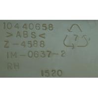 2007-2009 Cadillac XLR Dashboard Endcap Right Side Light Cashmere 15269266