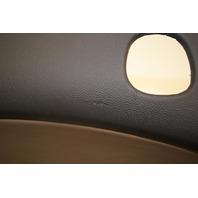 Cadillac XLR Rear Panel With Leather Addition, Black (slight damage) 15297384