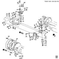 1990-2000 Topkick Kodiak C6500-C7500 T6500-T7500 Engine Mount Kit New 15633118