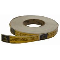 1997-09 GMC Topkick/Chevy Kodiak Caution Label English (Wiper Cycle)New 15735444